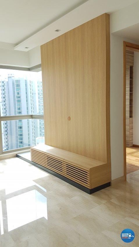 Minimalist, Modern Design - Living Room - Condominium - Design by Spire Id Pte Ltd