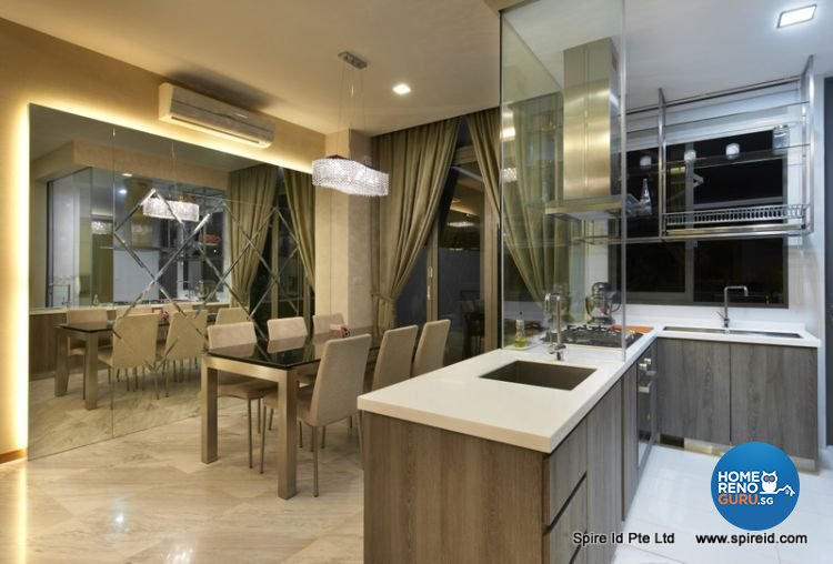 Classical, Contemporary Design - Dining Room - Condominium - Design by Spire Id Pte Ltd