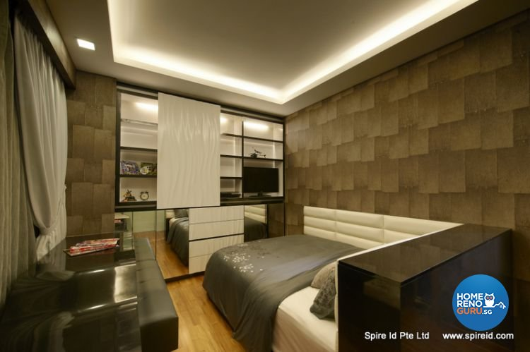 Classical, Contemporary Design - Bedroom - Condominium - Design by Spire Id Pte Ltd