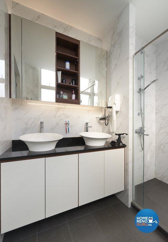 Modern Design - Bathroom - Landed House - Design by Spire Id Pte Ltd