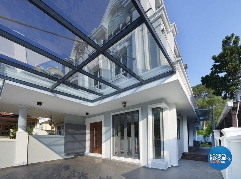 Modern Design - Garden - Landed House - Design by Spire Id Pte Ltd