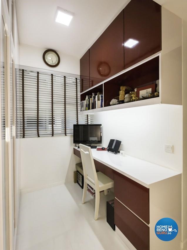Modern Design - Study Room - Condominium - Design by Square Room Decor Pte Ltd