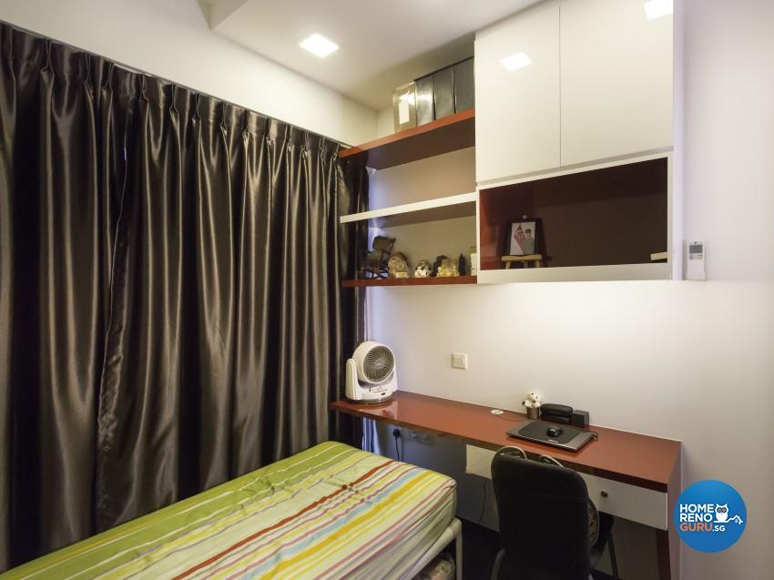 Modern Design - Bedroom - Condominium - Design by Square Room Decor Pte Ltd