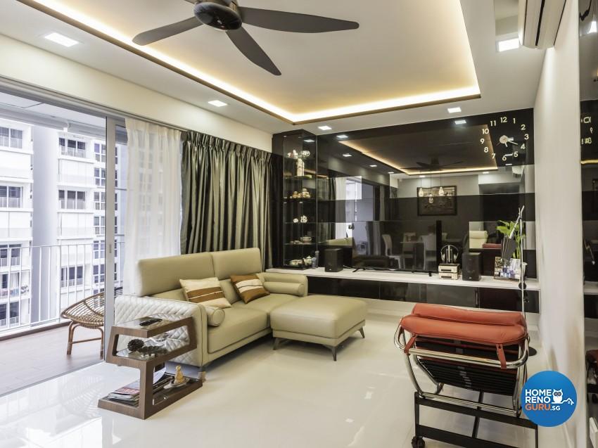 Modern Design - Living Room - Condominium - Design by Square Room Decor Pte Ltd