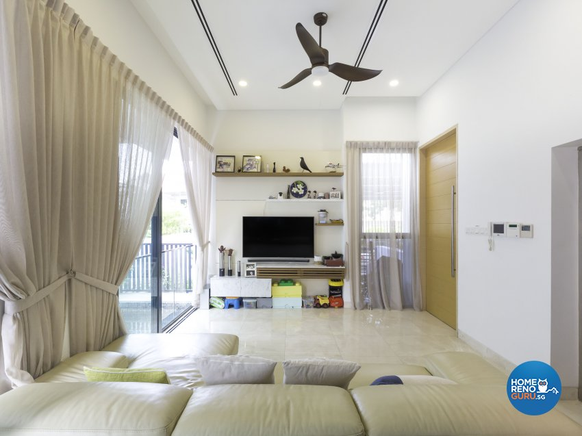 Modern Design - Living Room - Landed House - Design by Square Room Decor Pte Ltd