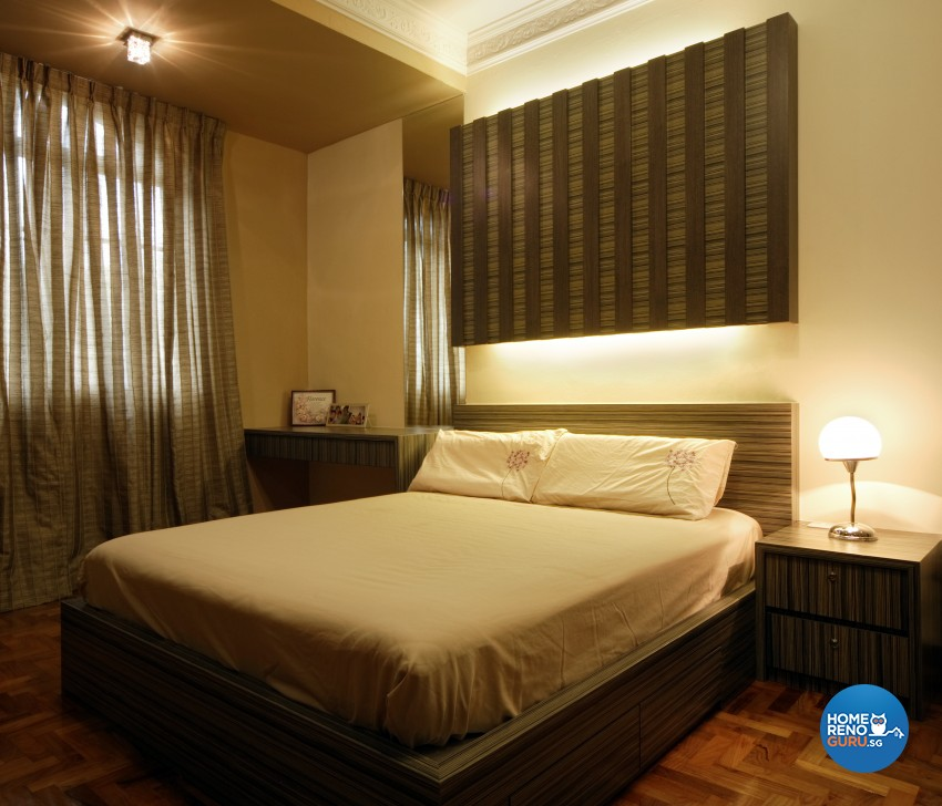 Classical Design - Bedroom - Landed House - Design by Square Room Decor Pte Ltd