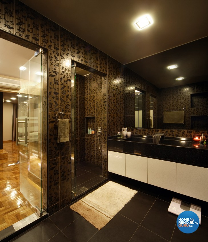 Classical Design - Bathroom - Landed House - Design by Square Room Decor Pte Ltd