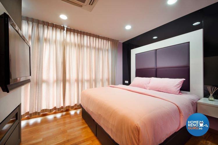 Contemporary, Minimalist Design - Bedroom - Landed House - Design by Square Room Decor Pte Ltd