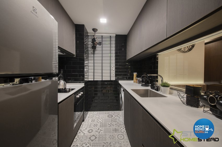 Modern Design - Kitchen - Condominium - Design by Starry Homestead Pte Ltd