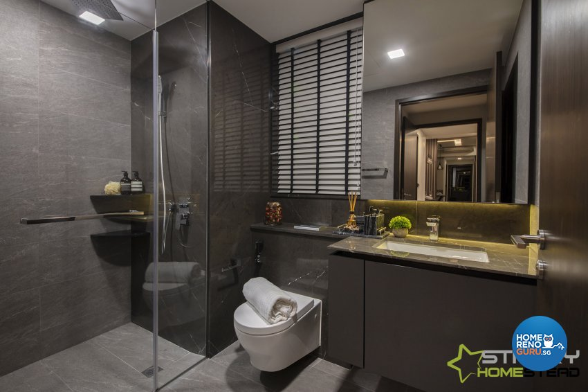 Modern Design - Bathroom - Condominium - Design by Starry Homestead Pte Ltd