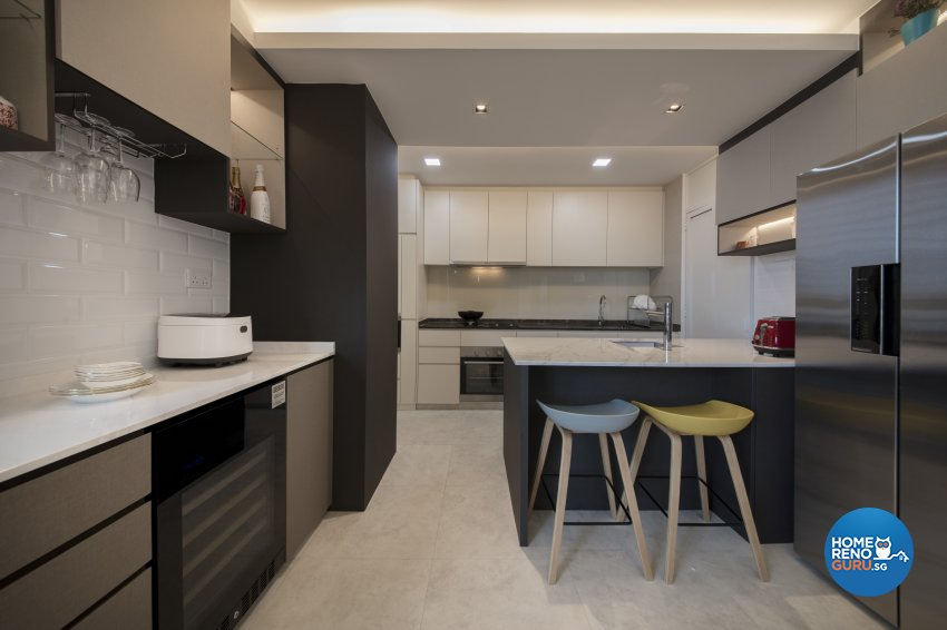 Contemporary, Modern Design - Kitchen - Condominium - Design by Starry Homestead Pte Ltd