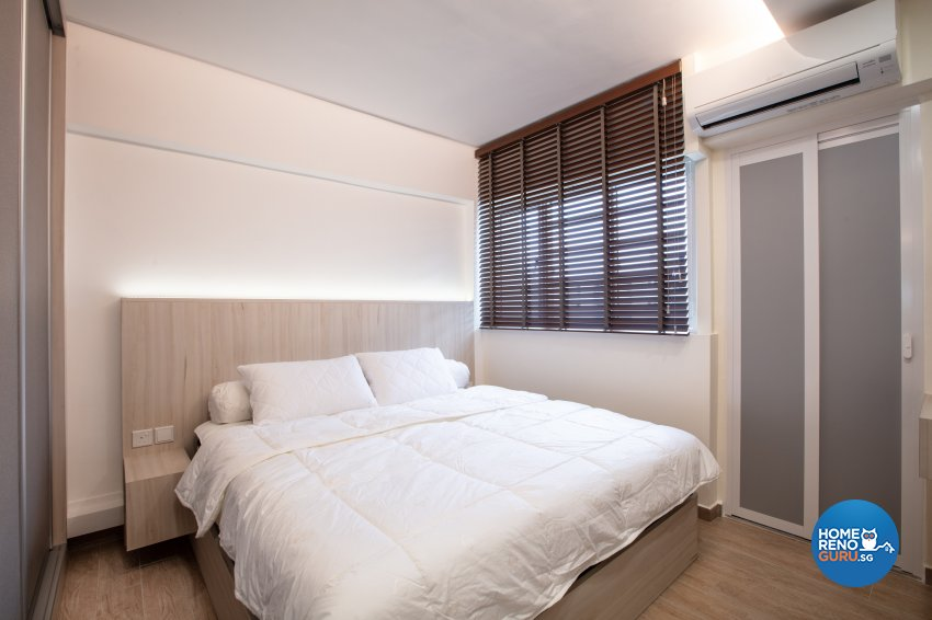 Modern Design - Bedroom - HDB 4 Room - Design by Starry Homestead Pte Ltd