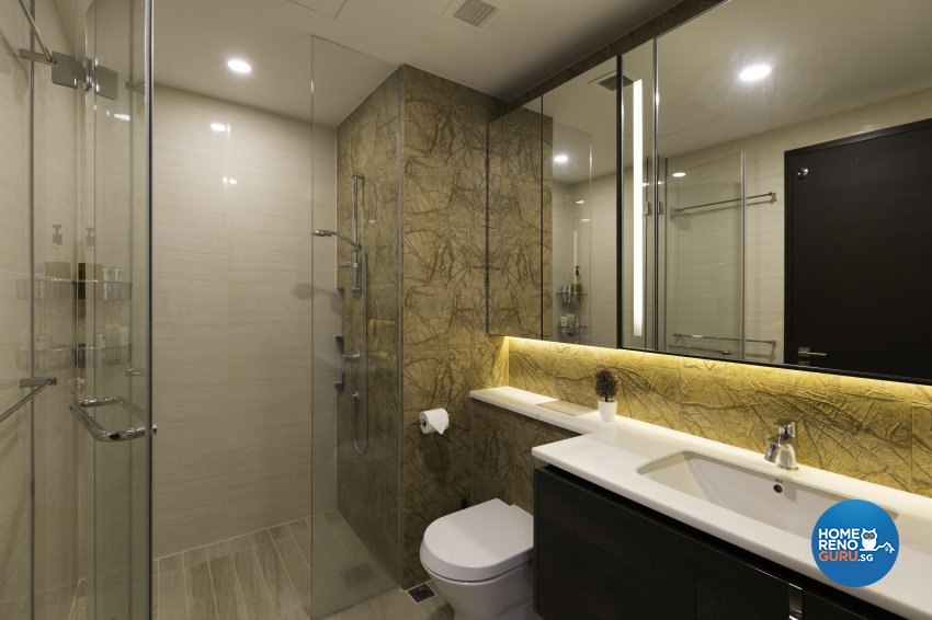 Scandinavian Design - Bathroom - Condominium - Design by Starry Homestead Pte Ltd