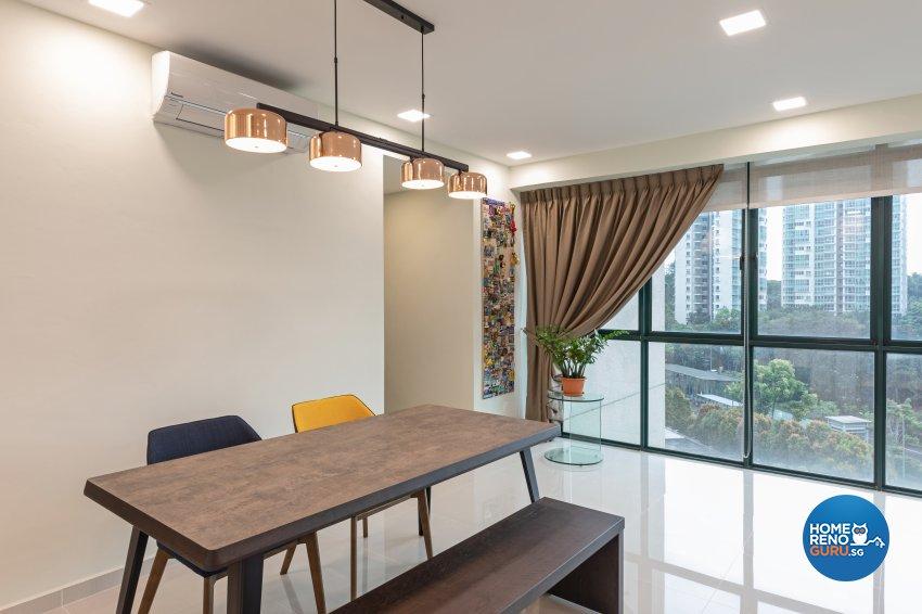 Scandinavian Design - Dining Room - Condominium - Design by Starry Homestead Pte Ltd
