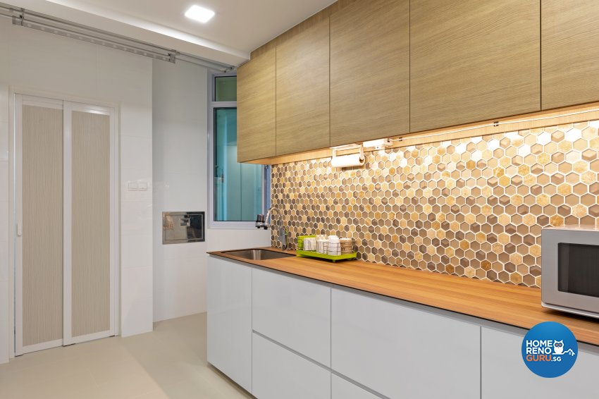 Scandinavian Design - Kitchen - Condominium - Design by Starry Homestead Pte Ltd