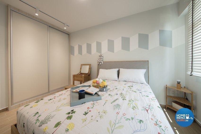 Scandinavian Design - Bedroom - HDB 4 Room - Design by Starry Homestead Pte Ltd