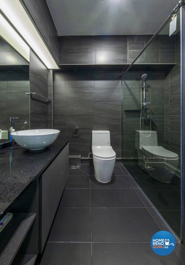 Classical, Modern Design - Bathroom - HDB 5 Room - Design by Starry Homestead Pte Ltd