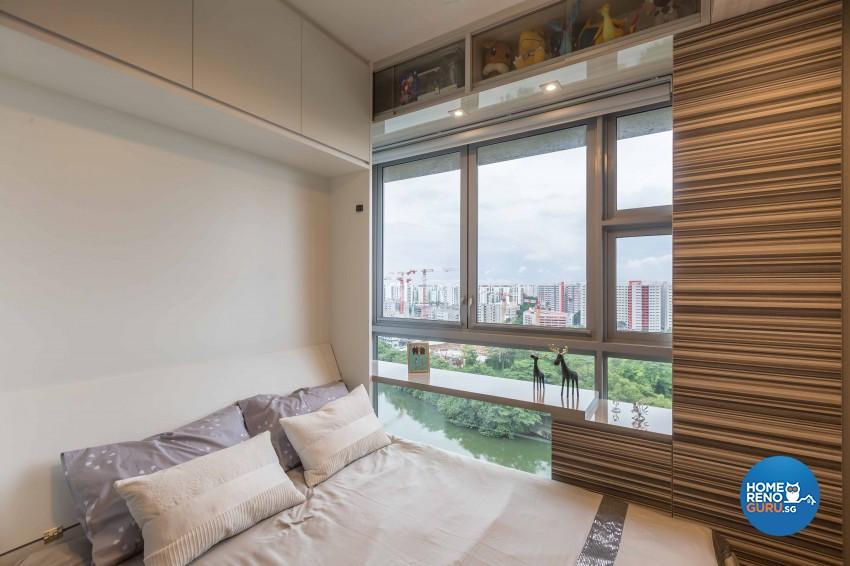 Modern, Rustic Design - Bedroom - Condominium - Design by Starry Homestead Pte Ltd