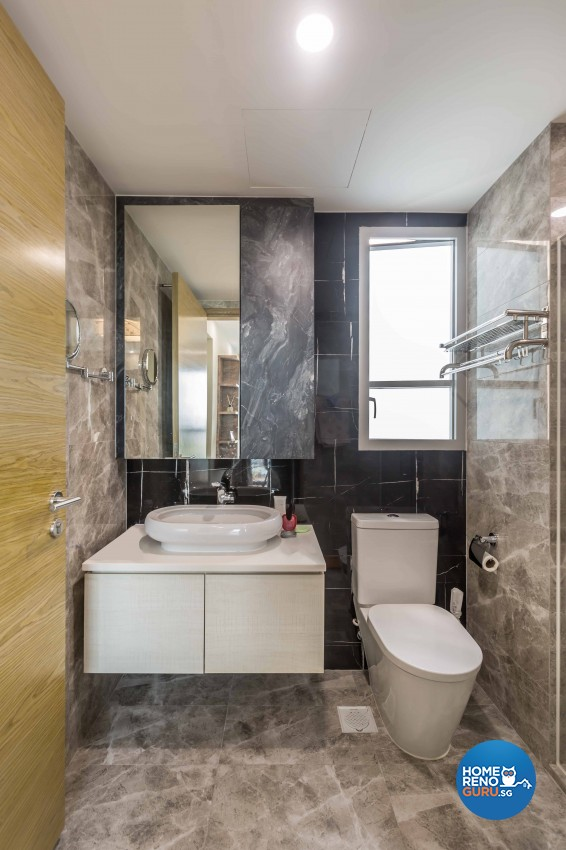 Modern Design - Bathroom - Condominium - Design by Starry Homestead Pte Ltd