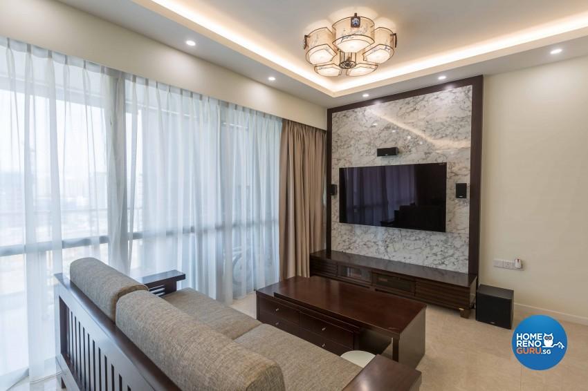 Modern Design - Living Room - Condominium - Design by Starry Homestead Pte Ltd