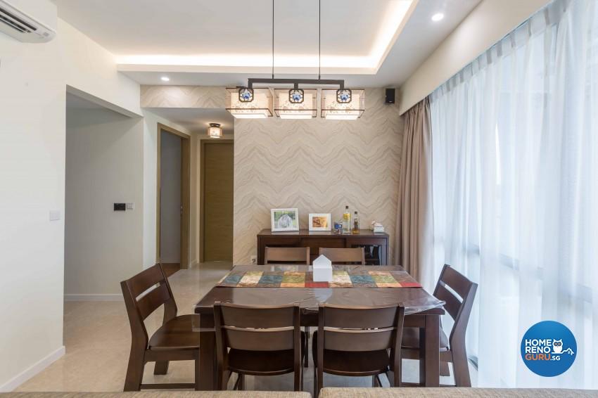 Modern Design - Dining Room - Condominium - Design by Starry Homestead Pte Ltd