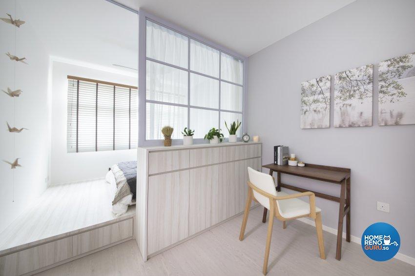 Country, Modern Design - Bedroom - HDB 5 Room - Design by Starry Homestead Pte Ltd