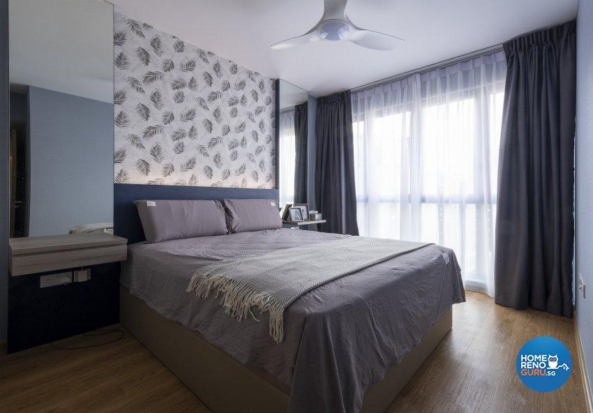 Modern, Scandinavian Design - Bedroom - Condominium - Design by Starry Homestead Pte Ltd