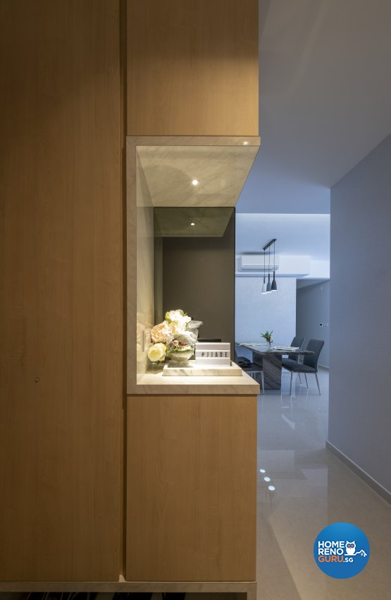 Modern, Scandinavian Design - Dining Room - Condominium - Design by Starry Homestead Pte Ltd