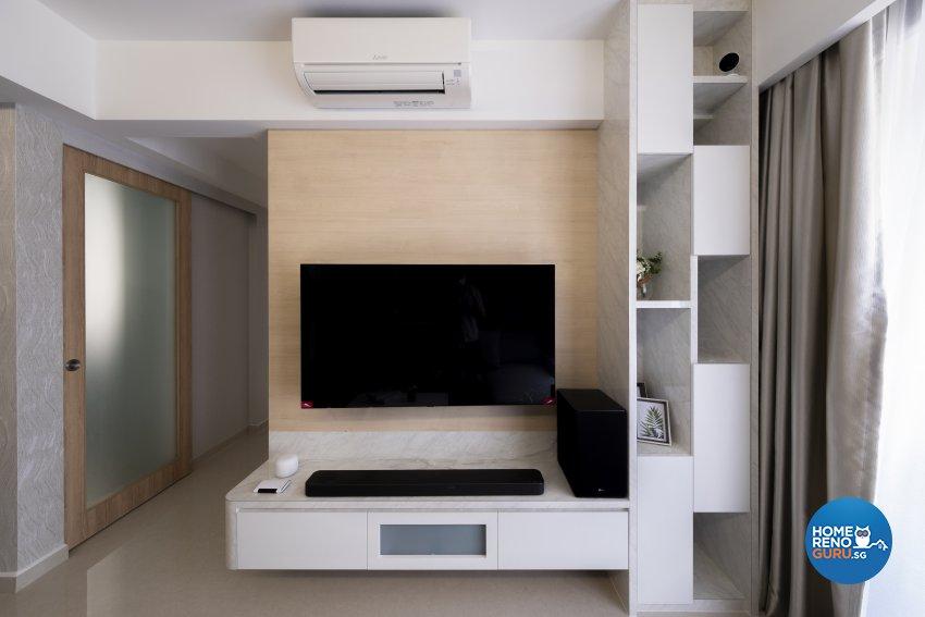 Modern, Scandinavian Design - Living Room - Condominium - Design by Starry Homestead Pte Ltd