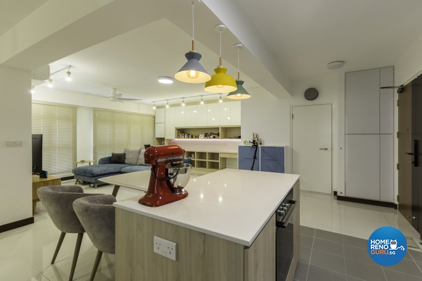Scandinavian Design - Dining Room - HDB 5 Room - Design by Starry Homestead Pte Ltd