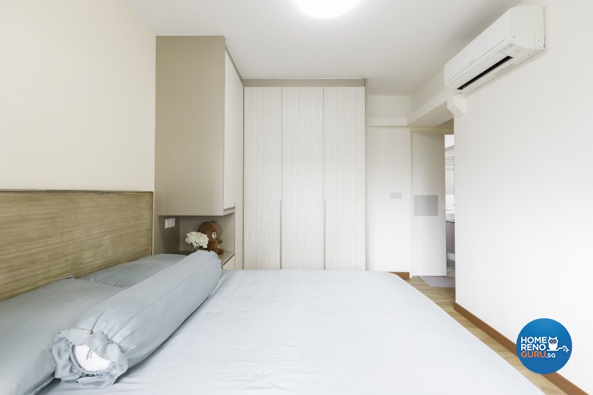 Scandinavian Design - Bedroom - HDB 3 Room - Design by Starry Homestead Pte Ltd