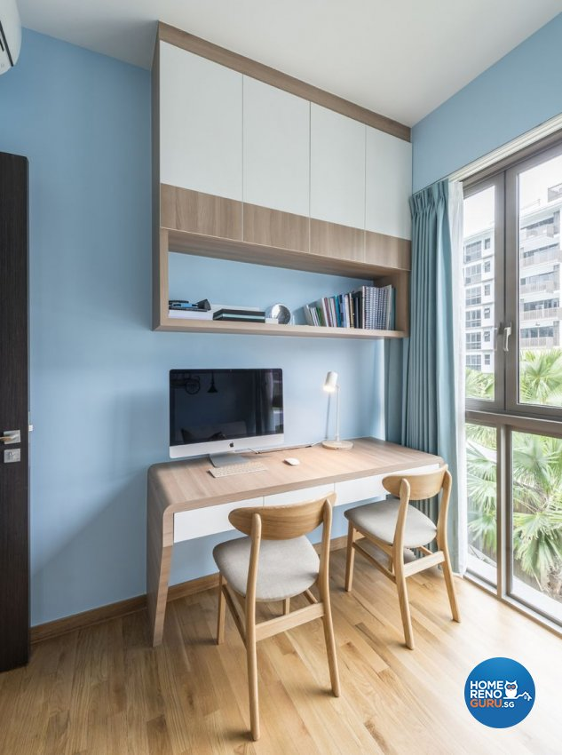 Minimalist, Scandinavian Design - Study Room - Condominium - Design by Starry Homestead Pte Ltd