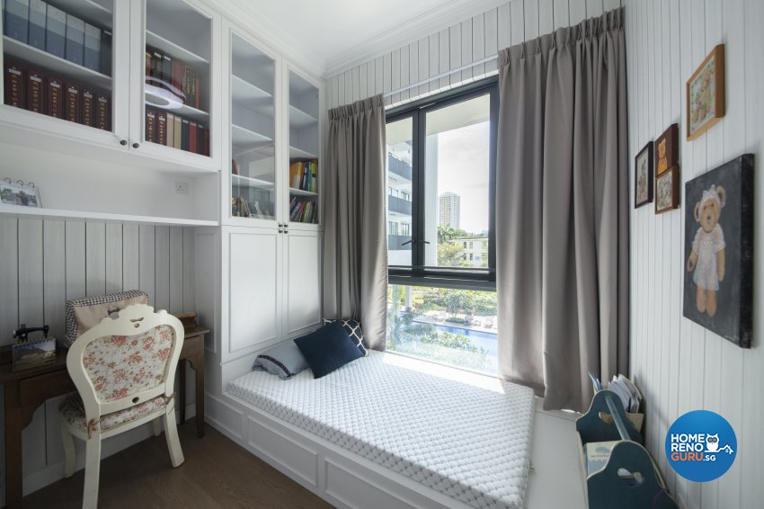 Country Design - Bedroom - Condominium - Design by Starry Homestead Pte Ltd