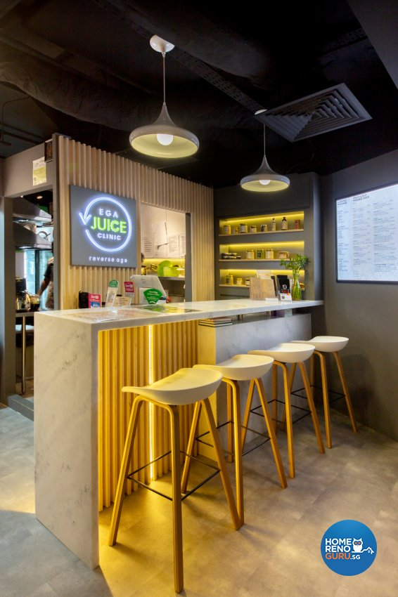 Industrial, Modern Design - Commercial - F&B - Design by Starry Homestead Pte Ltd