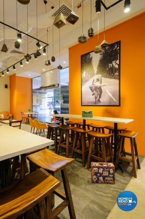 Industrial, Scandinavian Design - Dining Room - Retail - Design by Starry Homestead Pte Ltd