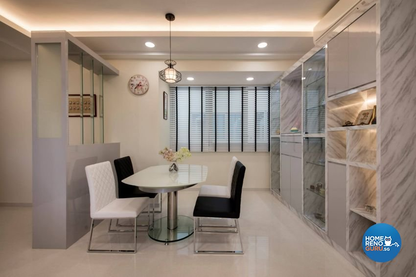 Modern Design - Dining Room - HDB 3 Room - Design by Starry Homestead Pte Ltd
