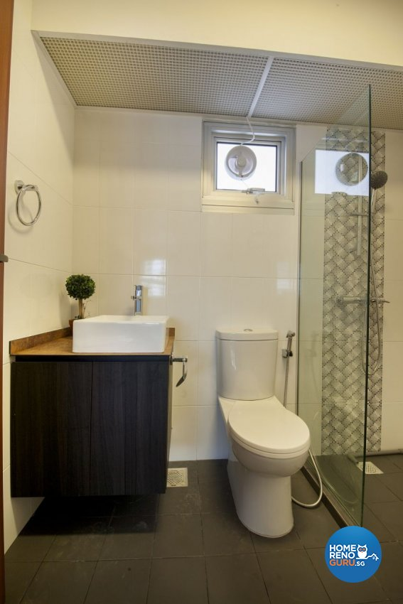 Minimalist, Scandinavian Design - Bathroom - HDB 3 Room - Design by Starry Homestead Pte Ltd