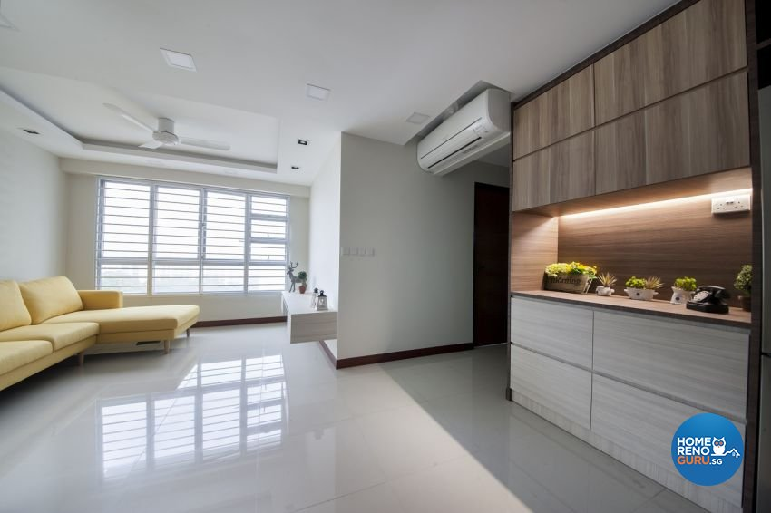 Minimalist, Scandinavian Design - Living Room - HDB 3 Room - Design by Starry Homestead Pte Ltd