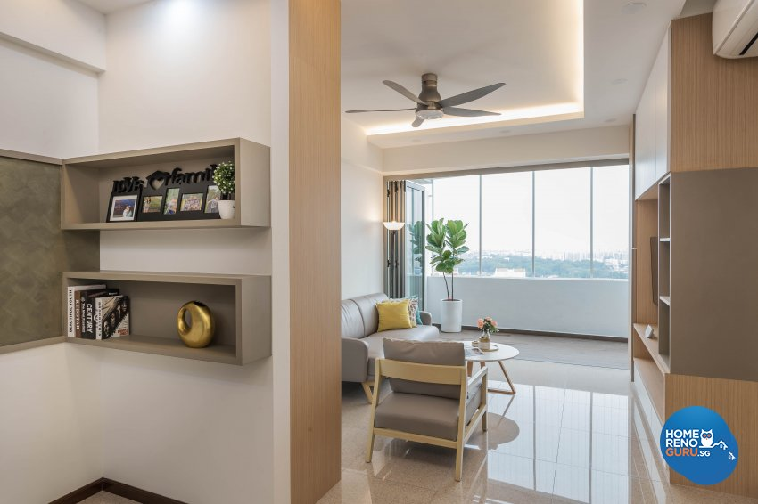 Scandinavian Design - Living Room - Condominium - Design by Starry Homestead Pte Ltd