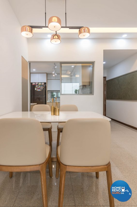 Scandinavian Design - Dining Room - Condominium - Design by Starry Homestead Pte Ltd