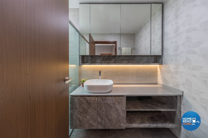 Modern, Scandinavian Design - Bathroom - Condominium - Design by Starry Homestead Pte Ltd