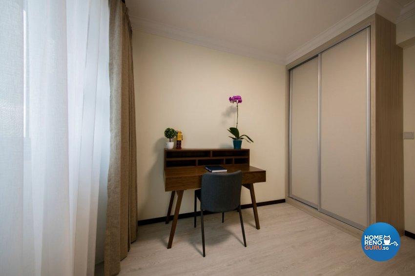 Minimalist, Scandinavian Design - Bedroom - HDB 4 Room - Design by Starry Homestead Pte Ltd