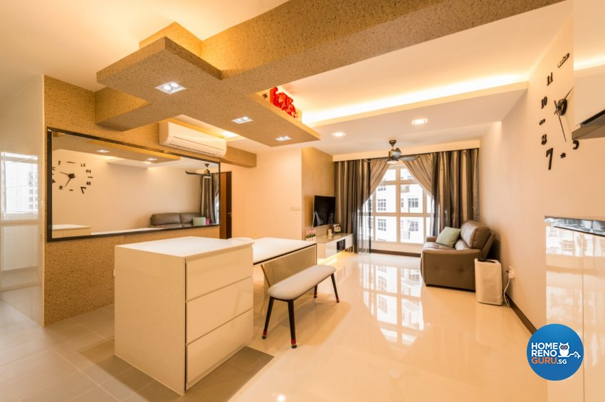 Minimalist, Scandinavian Design - Dining Room - HDB 4 Room - Design by Starry Homestead Pte Ltd