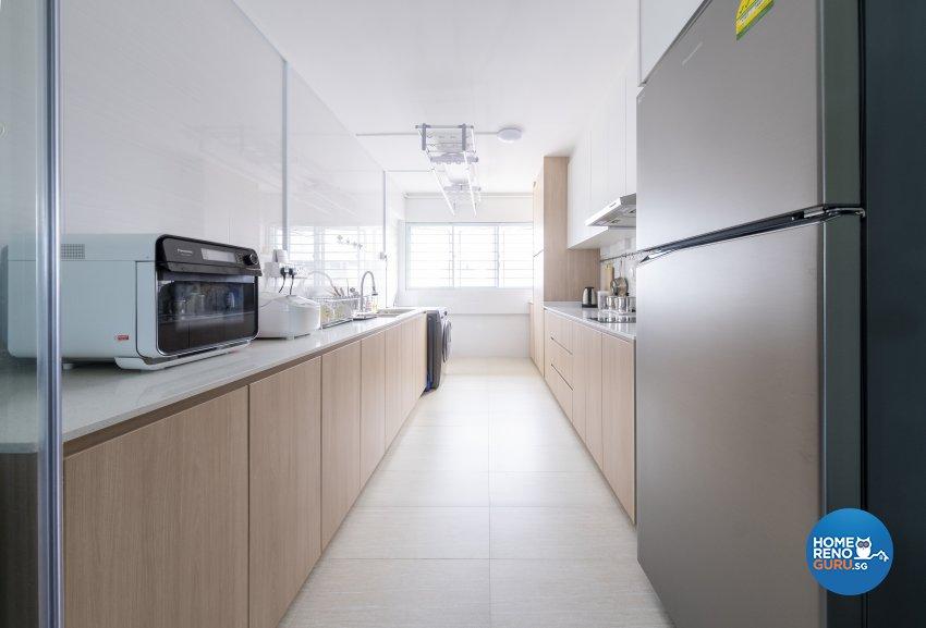 Scandinavian Design - Kitchen - HDB 5 Room - Design by Starry Homestead Pte Ltd