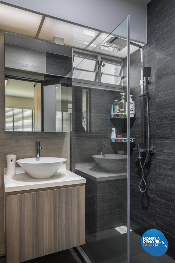 Modern Design - Bathroom - HDB 3 Room - Design by Starry Homestead Pte Ltd