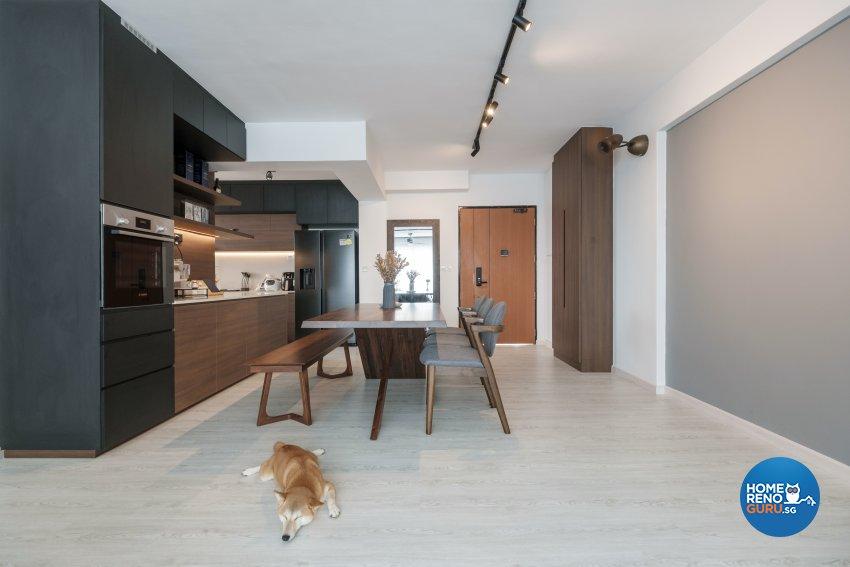 Modern Design - Living Room - HDB 5 Room - Design by Starry Homestead Pte Ltd