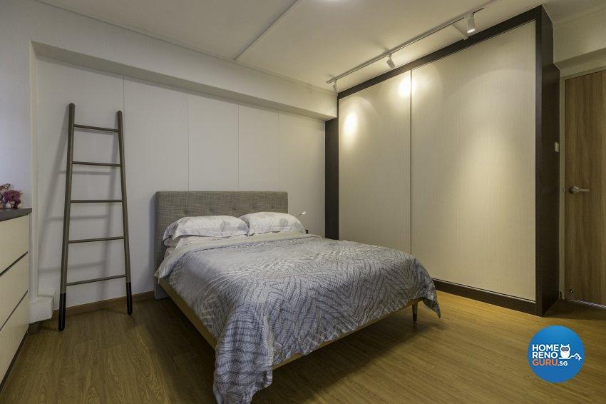 Scandinavian Design - Bedroom - HDB 5 Room - Design by Starry Homestead Pte Ltd