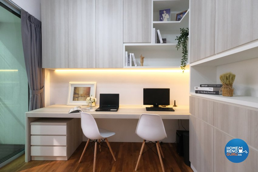 Scandinavian Design - Study Room - Condominium - Design by Starry Homestead Pte Ltd