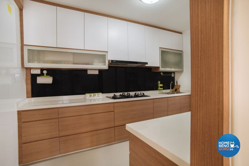 Contemporary Design - Kitchen - HDB 5 Room - Design by Starry Homestead Pte Ltd
