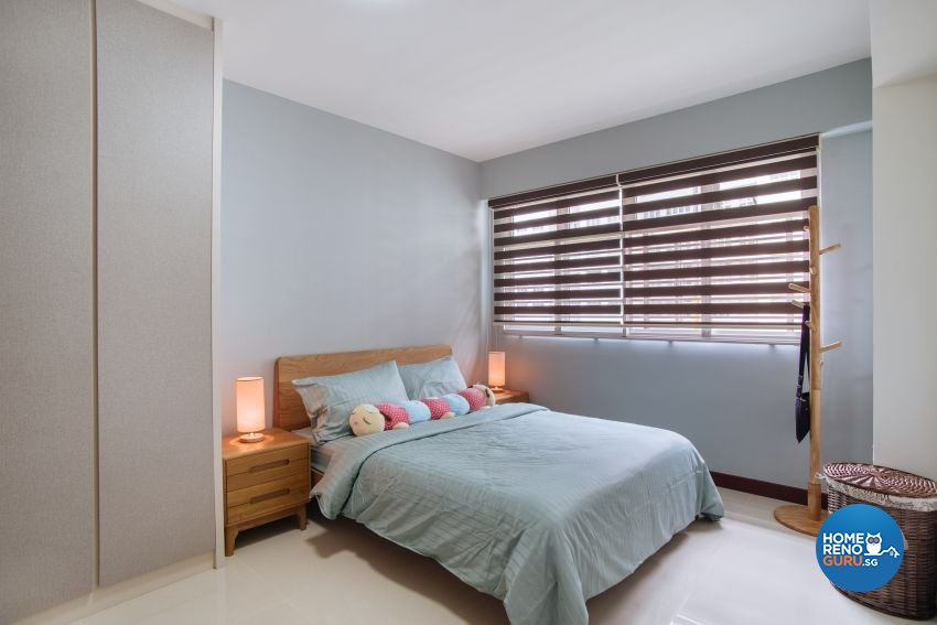 Contemporary Design - Bedroom - HDB 5 Room - Design by Starry Homestead Pte Ltd